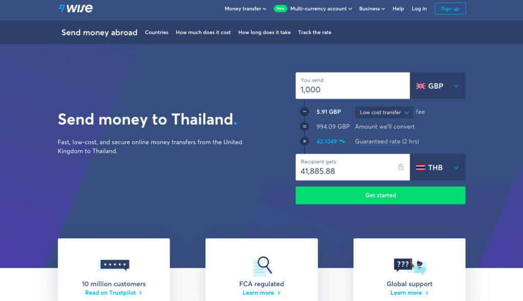 Rich results on Google's SERP when searching for 'Wise โอนเงินไปต่างประเทศ', 'Wise', 'โอนเงินไปต่างประเทศ', 'Wise account', 'Wise Business', 'TransferWise เปลี่ยนชื่อเป็น Wise', 'การส่งเงินจากเนเธอร์แลนด์กลับไทย', 'การโอนเงินจากประเทศเนเธอร์แลนด์กลับไทย', 'การโอนเงินจากเนเธอร์แลนด์กลับไทย', 'TransferWise', 'โอนเงินจากไทยไปต่างประเทศ' and 'โอนเงินต่างประเทศมาไทย'